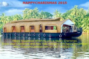 happy chrismas houseboat